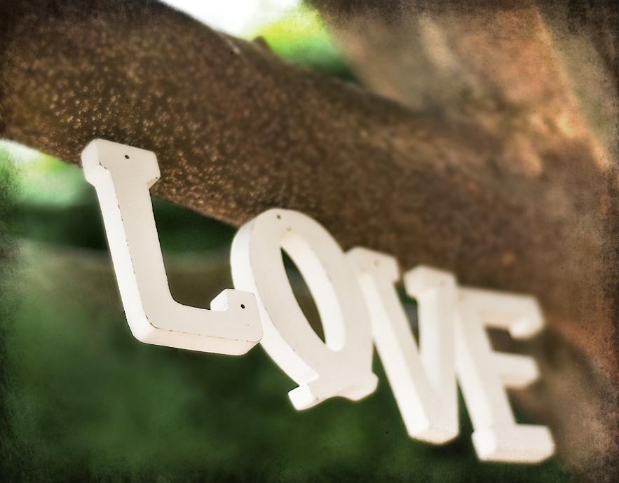 Detalles letras LOVE