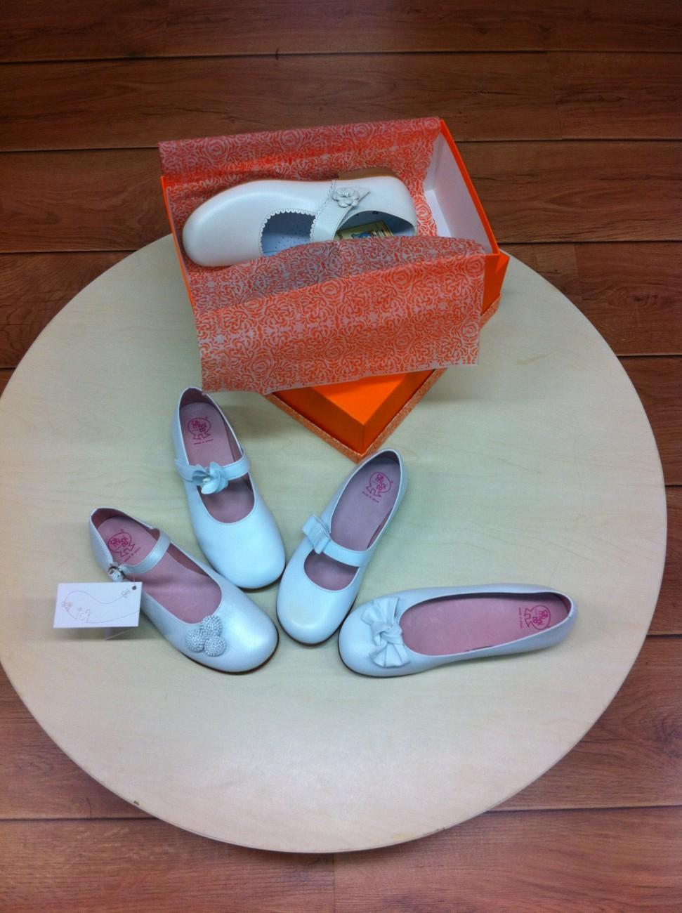 Modelo de Zapatos Niña