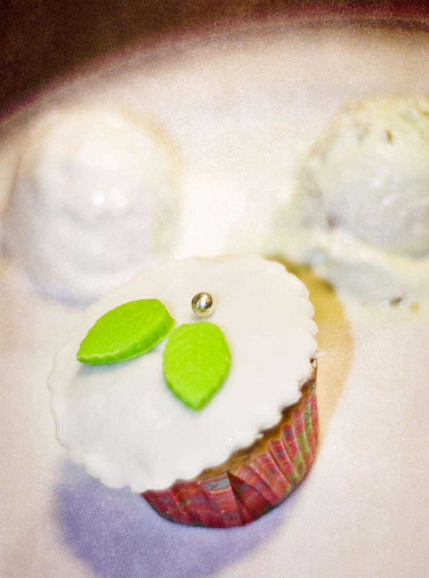 Cupcakes con Bola de Helado