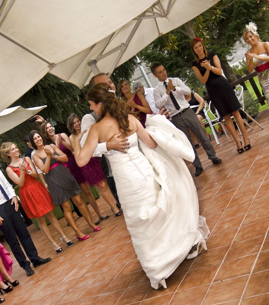 Pista de Baile Novia con el Padrino