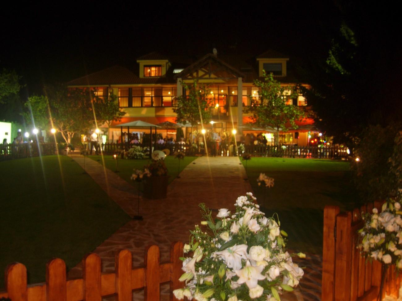 Vista Restaurante Noche