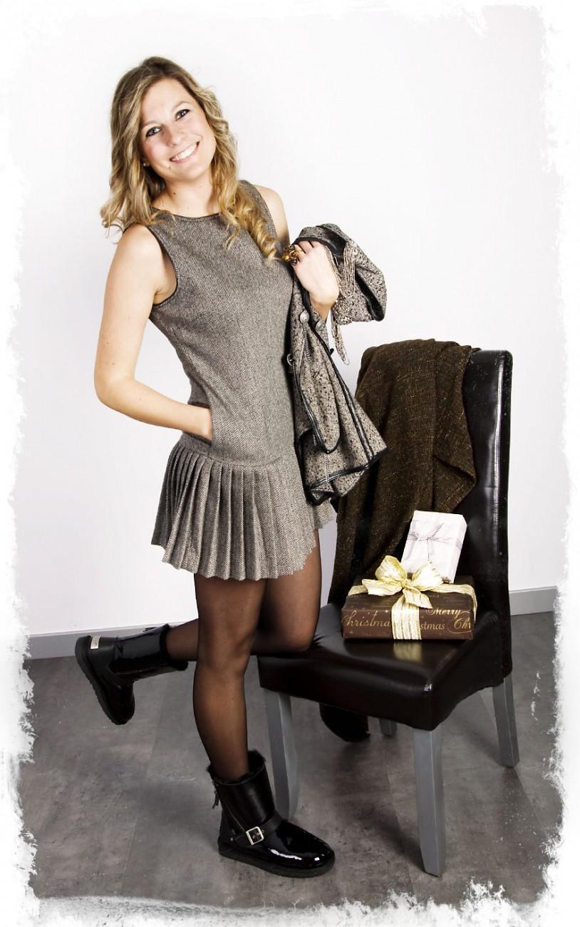 Detalle Bolsos del Vestido