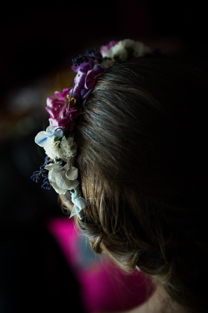 Tiara de Flores NaturalesFoto:Dipatata
